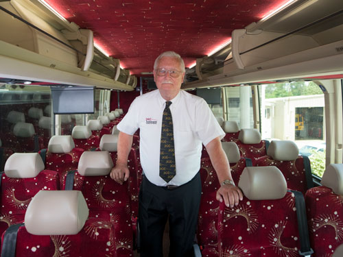 Why Anderson for charter bus rental