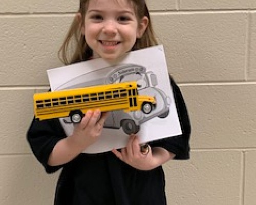 RES Kindergartener wants to drive bus