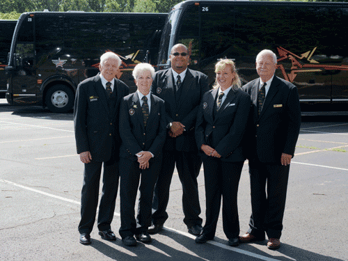 Charter Bus Company team in PA