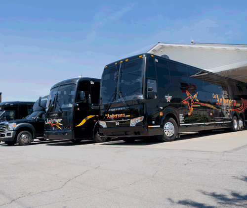 Charter Bus Service PA, Ohio, NY | Coach Bus Service | Anderson